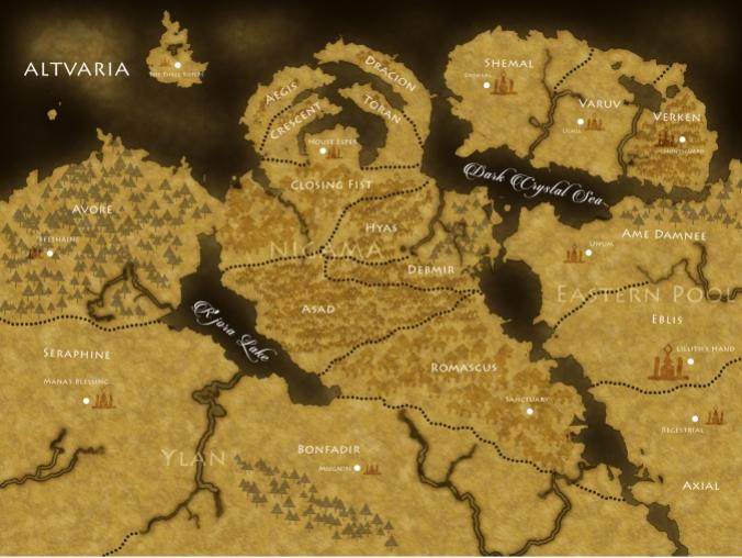 Altvaria Map Compressed