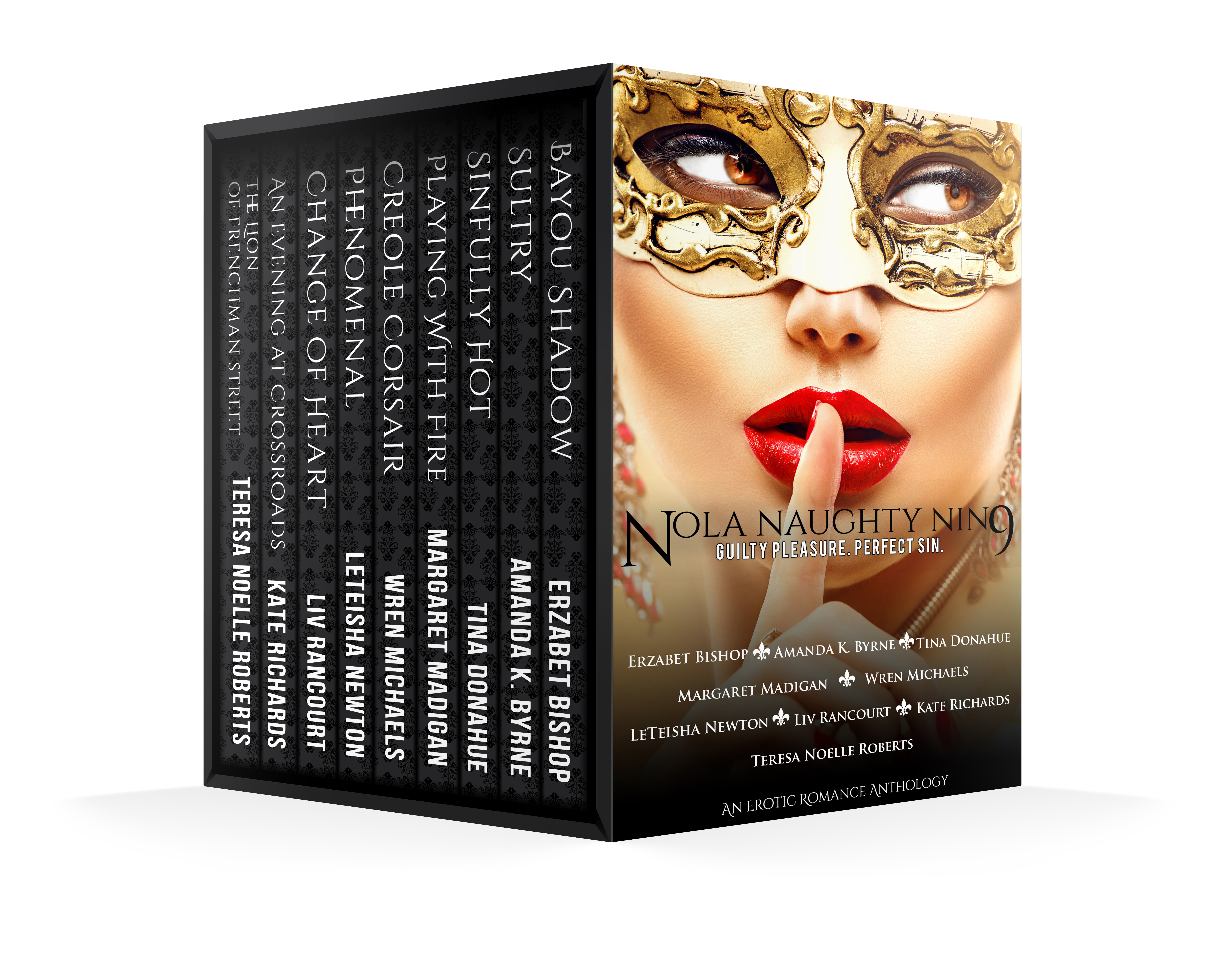 Naughty Nine Boxed Set Cover Complete